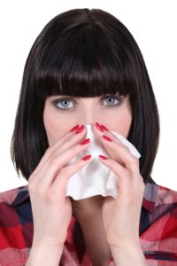 runny nose from allergies