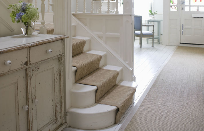 Home Carpeted Staircase