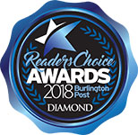 Burlington Readers Choice Award